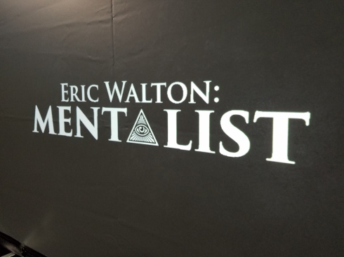 Eric Walton: Mentalist projection
